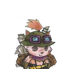 Teemo Concept 1 (by Riot Artist <a href=
