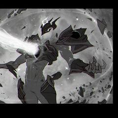 Dark Star Xerath Splash Concept 2 (by Riot Contracted Artist <a rel=