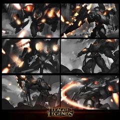 Dreadnova Darius Splash Concept 1 (by Riot Artist <a href=
