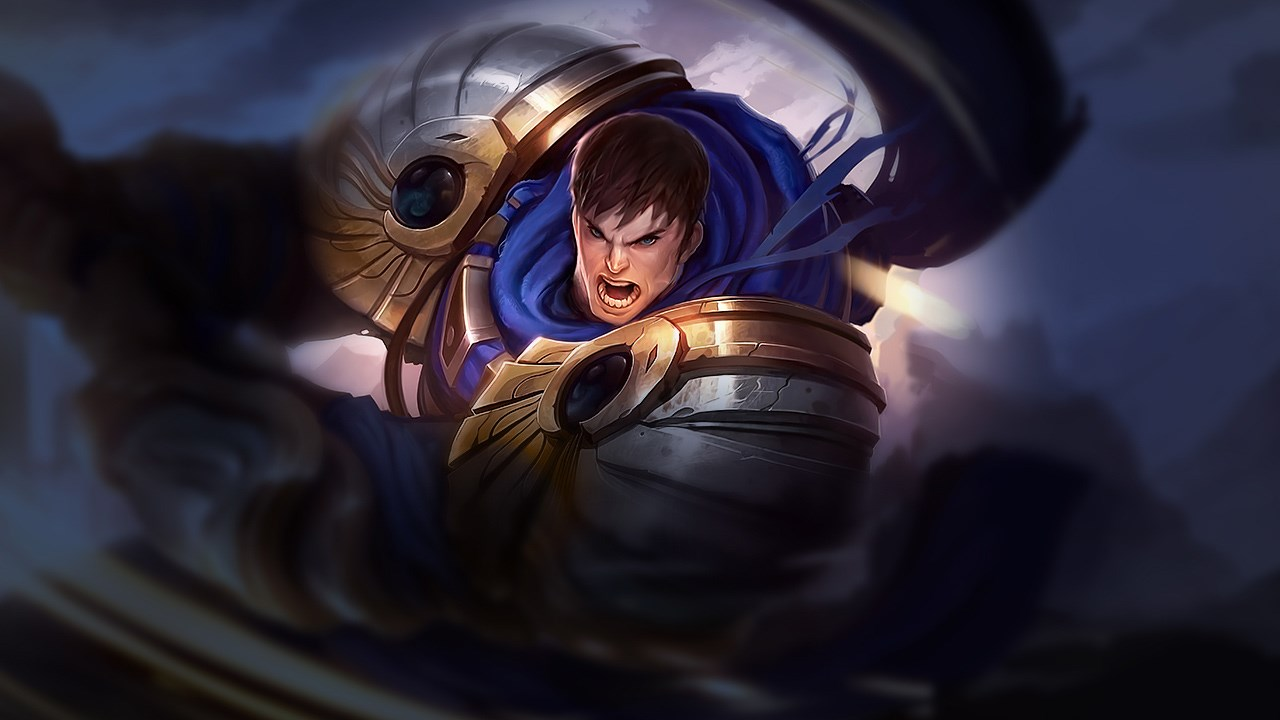 Garen, top lane champion