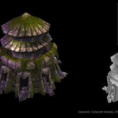 Summoner's Rift Architecture Models 2 (by Riot Artist <a rel=