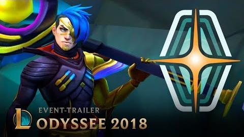 Willkommen an Bord Odyssee Event-Trailer – League of Legends