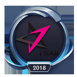 Worlds 2018 J Team Emote