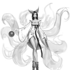 Ahri Concept 1 (by Riot Artist <a href=