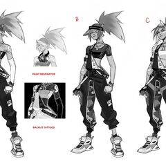 True Damage Akali Concept 4 (by Riot Artists <a rel=