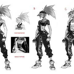 True Damage Akali Concept 4 (by Riot Artists <a href=