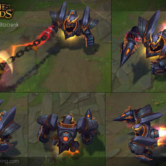 Lancer Rogue Blitzcrank Model 3 (by Riot Artist <a rel=
