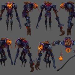Pumpkinhead Fiddlesticks Update Model