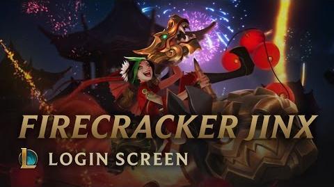 Firecracker Jinx - Login Screen