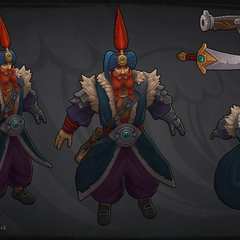 Sultan Gangplank Model 2 (by Riot Artist <a href=