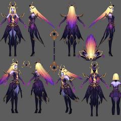 Dark Cosmic Lux Model (by Riot Artist <a href=