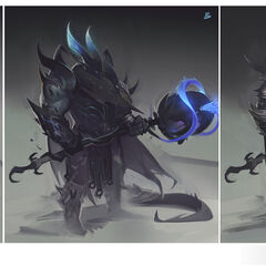 Dragon Knight Mordekaiser Update Concept 4 (by Riot Artist <a href=