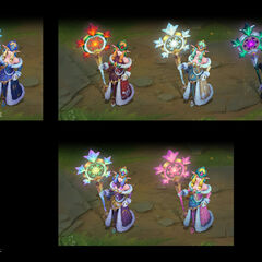 Winter Wonder Soraka Chroma Concept (by Riot Artist <a href=