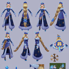 Winter Wonder Soraka Model 6 (by Riot Artist <a href=