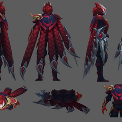 Blood Moon Talon Model