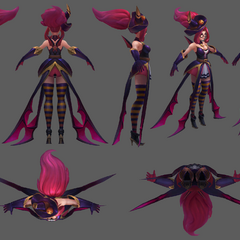 Bewitching Janna Model