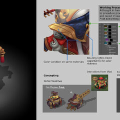 Coin Emperor Tahm Kench Model 2 (by Riot Artist <a href=