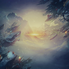 Winter Summoner's Rift Loading background