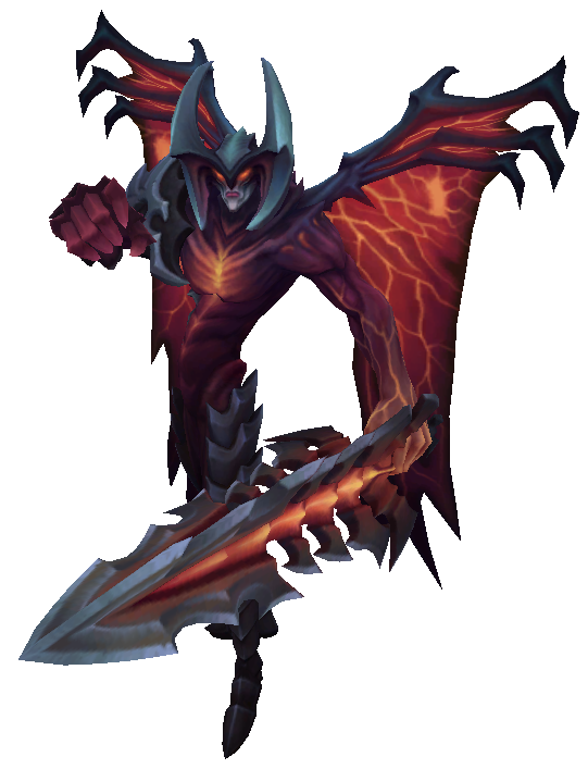 Aatrox Render old