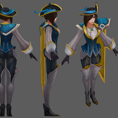 Royal Guard Fiora Update Model