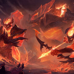 Galio, Shen y Varus Infernal