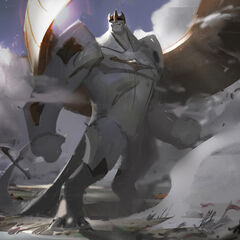 Galio Update Splash Concept 2 (by Riot Artist <a href=