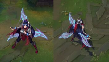 Irelia in game Konzept
