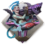 LoR Jinx's Mayhem Board icon