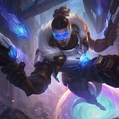 Pulsefire Lucian Splash Concept (by Riot Contracted Artist <a rel=