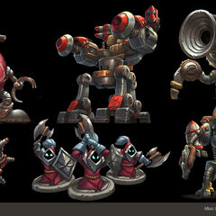 Mechs vs. Minions Concept 11 (by Riot Artist <a rel=