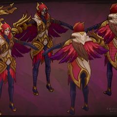 Phoenix Quinn Model 1 (by Riot Artist <a href=