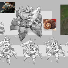 Giant Enemy Crabgot Update Concept 2 (by Riot Artist <a rel=