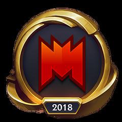 Mistrzostwa 2018 – Złote INF