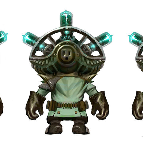 Mad Scientist Ziggs Concept