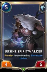 Ursine Spiritwalker (Legends of Runeterra)