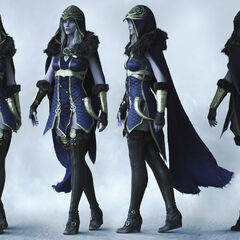 Ashe Cinematic Model 1 (by Riot Artist <a rel=