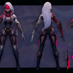PROJECT: Katarina Model 2 (by  Riot Artist <a rel=