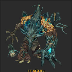 Haunted Maokai Model 3 (by Riot Artist <a href=