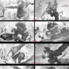 Snow Man Yi Splash Concept 1 (by Riot Artist <a href=