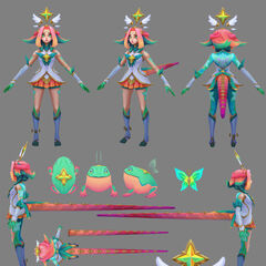 Star Guardian Neeko Model 1 (by Riot Artist <a href=