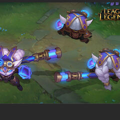 Hextech Poppy Concept 3 <small>(by Riot Artists <a rel=