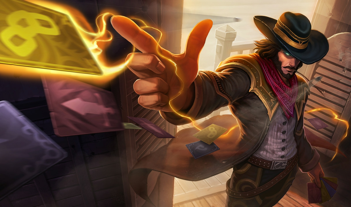 Twisted Fate High Noon-Twisted Fate S