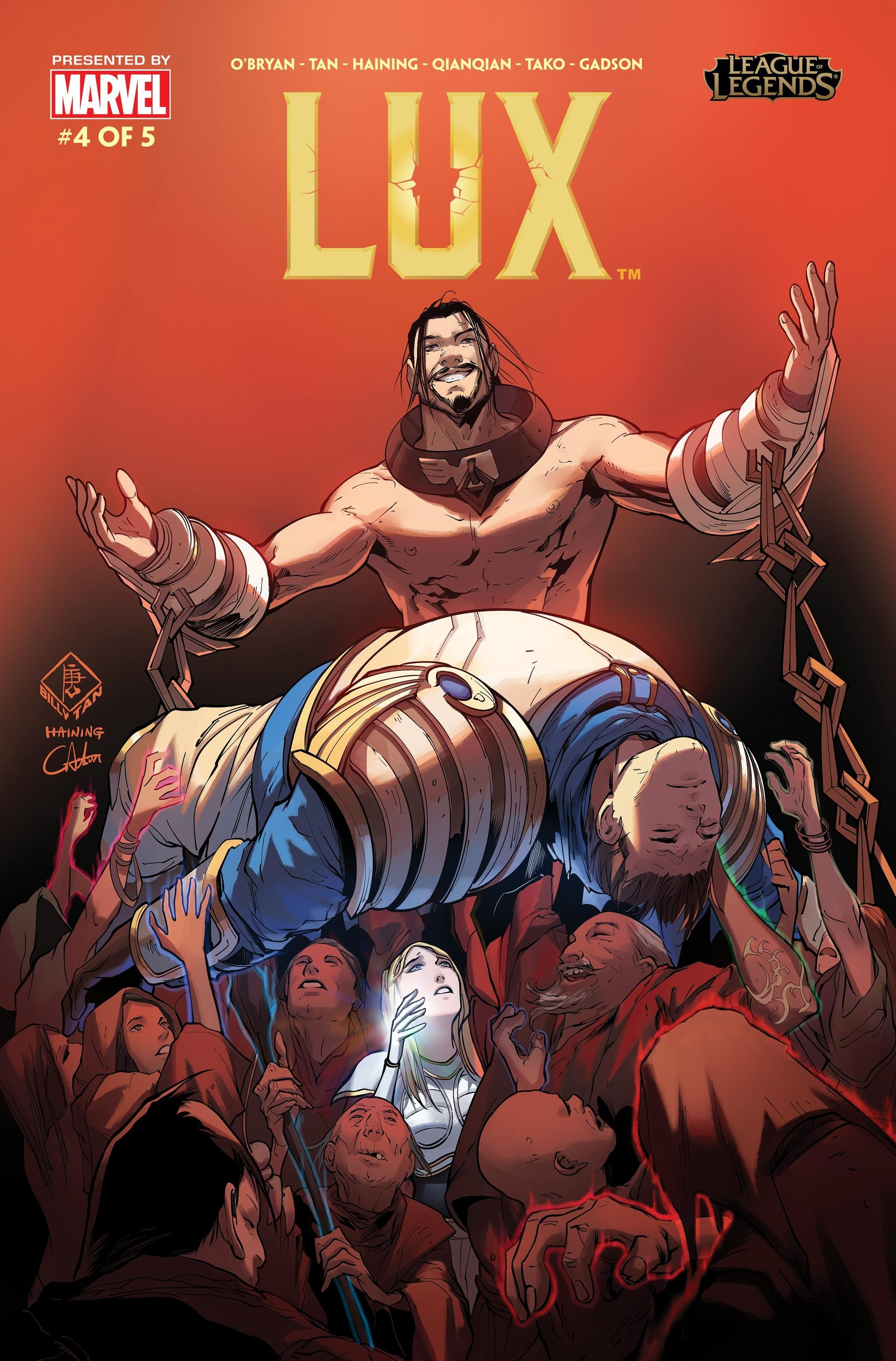 Lux Comic 4 Cover 1