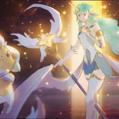 Star Guardian Soraka Splash Concept 1 (by Riot Artist <a href=