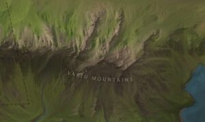 Varju Mountains map