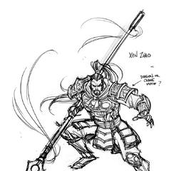 Xin Zhao Concept 1