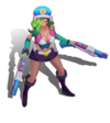 Miss Fortune Arcade (Aquamarine)