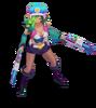 Miss Fortune Arcade (Aquamarine)