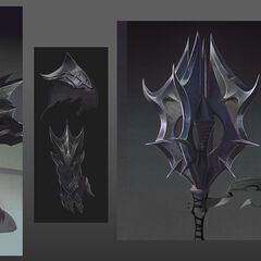 Dragon Knight Mordekaiser Update Concept 3 (by Riot Artist <a href=