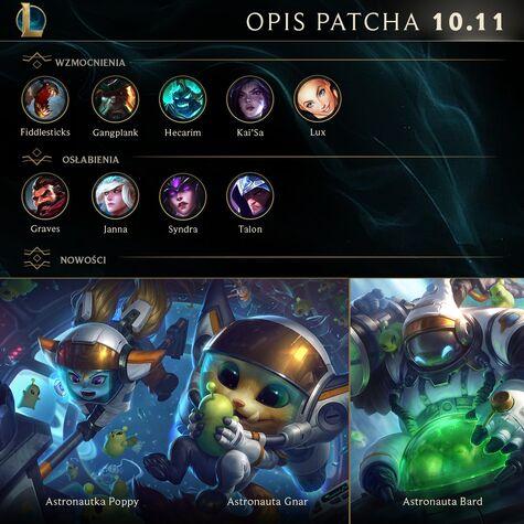 Opis patcha 10.11